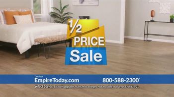 Empire Today Half Price Sale TV Spot, \'Right From Home\'