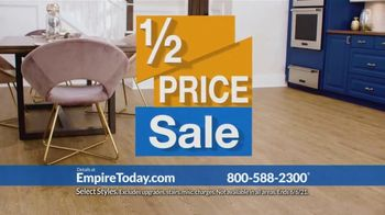Empire Today Half Price Sale TV Spot, 'Right From Home' - Thumbnail 6