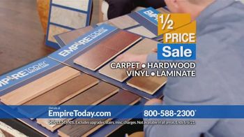 Empire Today Half Price Sale TV Spot, 'Right From Home' - Thumbnail 7