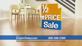 Empire Today Half Price Sale TV Spot, 'Right From Home' - Thumbnail 9
