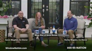 Window Nation TV Spot, 'Talking Windows: Buy Two Windows, Get Two Free' Featuring Mina Starsiak