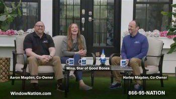 Window Nation TV Spot, 'Talking Windows: Buy Two Windows, Get Two Free' Featuring Mina Starsiak - Thumbnail 2