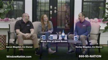 Window Nation TV Spot, 'Talking Windows: Buy Two Windows, Get Two Free' Featuring Mina Starsiak - Thumbnail 3