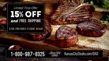 Kansas City Steak Company TV Spot, 'Father's Day: Sizzle' - Thumbnail 7