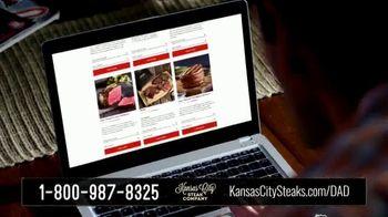 Kansas City Steak Company TV Spot, 'Father's Day: Sizzle' - Thumbnail 4