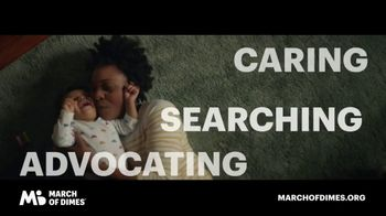 March of Dimes TV Spot, 'We Won't Stop'