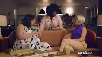 Purple Mattress Spring Sale TV Spot, 'Try It: Free Sheets and Pillow'