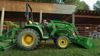 John Deere 3 Series Tractor TV Spot, 'Steward of the Land: 0% APR: 72 Months'