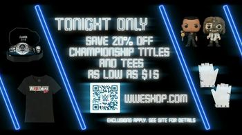 WWE Shop TV Spot, 'Dress Like the World Is Watching: Save 20% Off Championship Titles & $15 Tees' Song by Yez Yez - Thumbnail 7
