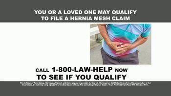 Kresch & Lee TV Spot, 'Hernia Mesh Devices' - Thumbnail 1