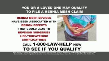 Kresch & Lee TV Spot, 'Hernia Mesh Devices' - Thumbnail 2