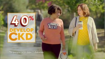 Bayer AG TV Spot, 'Kidney Alert: Type 2 Diabetes' - Thumbnail 3