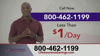 Life Insurance Savings Group TV Spot, 'Up to $25,000'