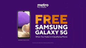 Metro by T-Mobile TV Spot, 'Big 5G Upgrade: Samsung Galaxy A32' - Thumbnail 6