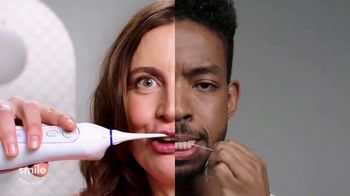 Smile Direct Club Water Flosser TV Spot, 'No Strings Attached' - Thumbnail 5