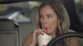 Sonic Drive-In Banana Pudding Shake TV Spot, 'Awkward Silence'