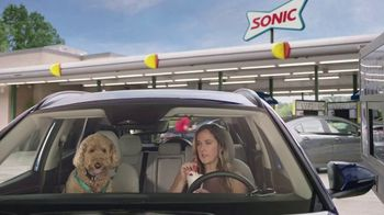 Sonic Drive-In Banana Pudding Shake TV Spot, 'Awkward Silence' - Thumbnail 1