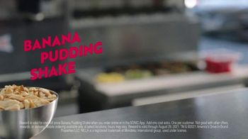 Sonic Drive-In Banana Pudding Shake TV Spot, 'Awkward Silence' - Thumbnail 8