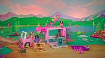 Barbie 3-in-1 Dream Camper TV Spot, 'Adventure Time' - Thumbnail 7
