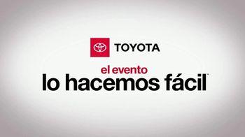 Toyota Evento Lo Hacemos Fácil TV Spot, 'Visita tu concesionario' [Spanish] [T2] - Thumbnail 1