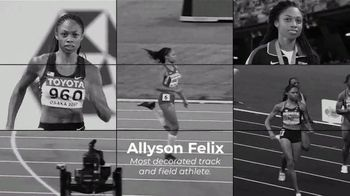 Centers for Disease Control and Prevention TV Spot, 'Hear Her: Allyson Felix: Not Alone' - Thumbnail 2