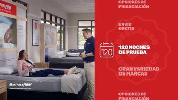 Mattress Firm Venta Actualiza y Ahorra TV Spot, 'Base ajustable gratis' [Spanish] - Thumbnail 7