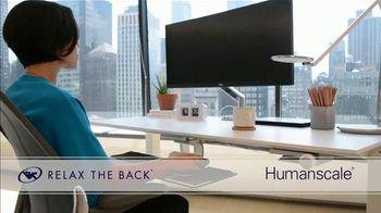 Relax the Back TV Spot, 'Desk: Ergonomic Office Charis'