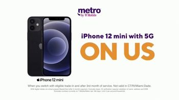 Metro by T-Mobile TV Spot, 'Say Hello to 5G: Free iPhone 12 mini' - Thumbnail 2