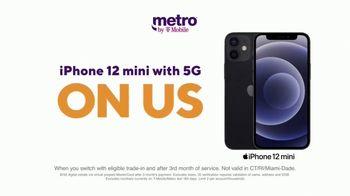 Metro by T-Mobile TV Spot, 'Say Hello to 5G: Free iPhone 12 mini' - Thumbnail 3
