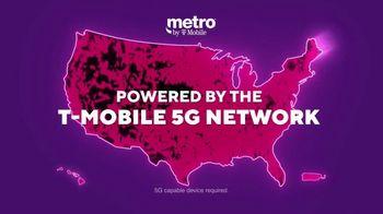 Metro by T-Mobile TV Spot, 'Say Hello to 5G: Free iPhone 12 mini' - Thumbnail 4