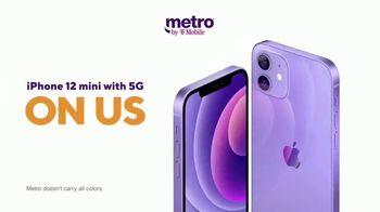 Metro by T-Mobile TV Spot, 'Say Hello to 5G: Free iPhone 12 mini' - Thumbnail 6