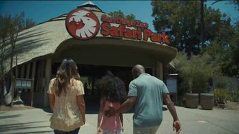 San Diego Zoo Safari Park TV Spot, 'Make Memories and a Difference: Welcome Back' - Thumbnail 1