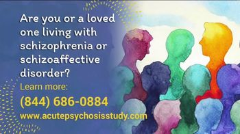 Acute Psychosis Study TV Spot, 'Recruiting Volunteers' - Thumbnail 2