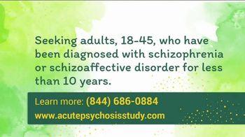 Acute Psychosis Study TV Spot, 'Recruiting Volunteers' - Thumbnail 3