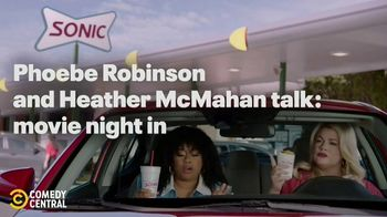 Sonic Drive-In Cheesecake Blasts TV Spot, 'Comedy Central: Pause' Ft. Phoebe Robinson, Heather McMahan - Thumbnail 2