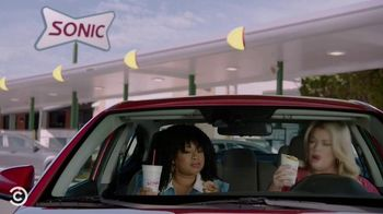 Sonic Drive-In Cheesecake Blasts TV Spot, 'Comedy Central: Pause' Ft. Phoebe Robinson, Heather McMahan - Thumbnail 3