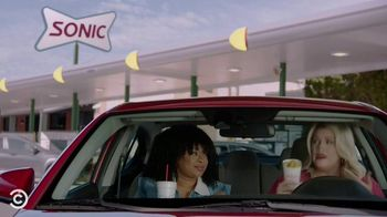 Sonic Drive-In Cheesecake Blasts TV Spot, 'Comedy Central: Pause' Ft. Phoebe Robinson, Heather McMahan - Thumbnail 6