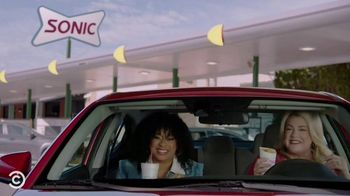 Sonic Drive-In Cheesecake Blasts TV Spot, 'Comedy Central: Pause' Ft. Phoebe Robinson, Heather McMahan - Thumbnail 8