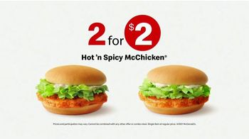 McDonald's 2 for $2 Mix & Match TV Spot, 'Late Ride' - Thumbnail 8