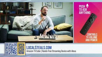 Local Steals & Deals TV Spot, 'Fire TV Cube' Featuring Lisa Robertson - Thumbnail 3