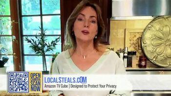 Local Steals & Deals TV Spot, 'Fire TV Cube' Featuring Lisa Robertson - Thumbnail 9