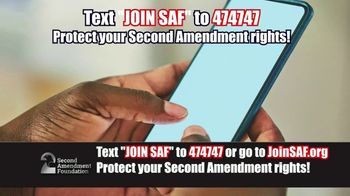 Second Amendment Foundation TV Spot, 'Like No Other Time in History'