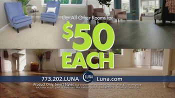 Luna Flooring $50 Room Sale TV Spot, 'Update All Your Rooms' - Thumbnail 4
