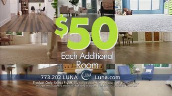 Luna Flooring $50 Room Sale TV Spot, 'Update All Your Rooms' - Thumbnail 6