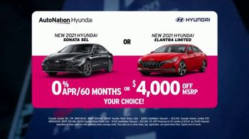 AutoNation Fast Start Sales Event TV Spot, '2021 Sonata or Elantra' Ft. Alexander Rossi - Thumbnail 4