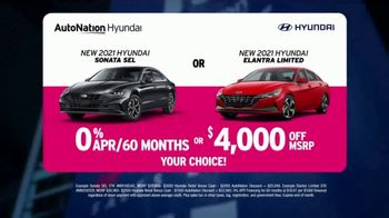 AutoNation Fast Start Sales Event TV Spot, '2021 Sonata or Elantra' Ft. Alexander Rossi - Thumbnail 5