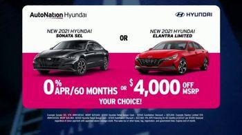 AutoNation Fast Start Sales Event TV Spot, '2021 Sonata or Elantra' Ft. Alexander Rossi - Thumbnail 6