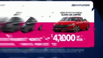 AutoNation Fast Start Sales Event TV Spot, '2021 Sonata or Elantra' Ft. Alexander Rossi - Thumbnail 7