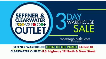 Rooms to Go 3 Day Warehouse Sale TV Spot, 'Seffner Warehouse: Storewide Markdowns' - Thumbnail 10