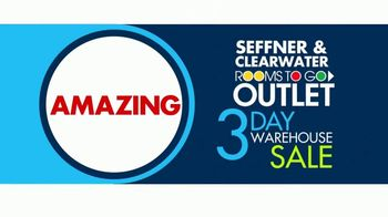 Rooms to Go 3 Day Warehouse Sale TV Spot, 'Seffner Warehouse: Storewide Markdowns' - Thumbnail 2